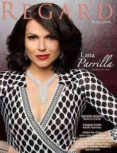 Lana Parrilla from the Regard magazine photoshoot