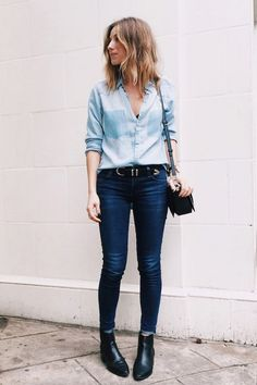 What to Wear With Jeans in the Fall: Glamour.com