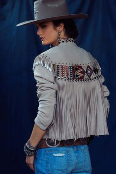 Antonio Mirabel Jacket – Double D Ranch Cowgirl Chic, Western Chic, Cowgirl Style, Western Wear, Cowgirl Outfits, Western Outfits, Boho Fashion, Womens Fashion, Native American Fashion