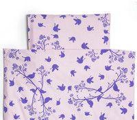 Luomupuuvillaiset lakanat #lintukuosi - Organic cotton bed linen #birdpattern