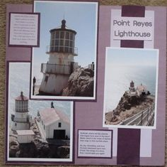 Point Reyes lighthouse - Scrapbook.com