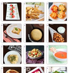 Blog Design Series: How to make a visual recipe index - Je suis alimentageuse