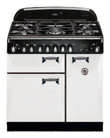 AGA Legacy 44 Inch Freestanding Pro-Style Dual Fuel Range with cu. Multifunction Oven, Broiling Oven, and Solid Doors in White Kitchen Sink Window, Kitchen Cabinet Layout, Painting Kitchen Cabinets, Kitchen Paint, New Kitchen, Kitchen Design, Kitchen Decor, White Appliances, 49er