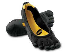 The original that started a barefoot revolution. From day one, the FiveFingers Classic has drawn the attention and praise of the press and active barefoot enthusiasts alike. This original FiveFingers design takes a casual and minimalist approach to barefooting. The upper features a thin stretch nylon fabric that fits low on the foot. Our non-marking 3.5mm Vibram® TC1 performance rubber soles are razor-siped for flexibility and slip resistance over a variety of terrain.