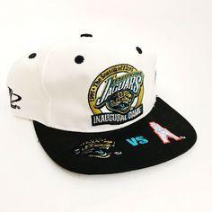 af046ded912 NFL Vintage SnapBack Hat 1995 Inaugural Game Jaguars Oilers New Tags | eBay Snapback  Hats,
