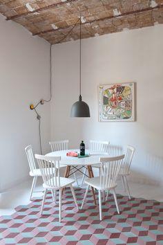 Tyche Apartment by CaSA, Barcelona Casa Decor 2017, Barcelona Apartment, Interior Architecture, Interior Design, Italian Home, Minimal Home, Rack Design, Holiday Apartments, Home And Deco