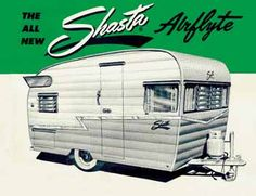 vintage shasta airflyte trailer dimensions, weight and factory features  vintage campers trailers, camper trailers