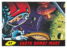 creates on-demand wall graphics for artists, brands, and digital content partners worldwide. Mars Attacks, Fb Like, Collector Cards, Kids Growing Up, Horror Comics, Classic Comics, Comic Books Art, Book Art, The Martian