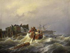 peinture de Andreas Achenbach
