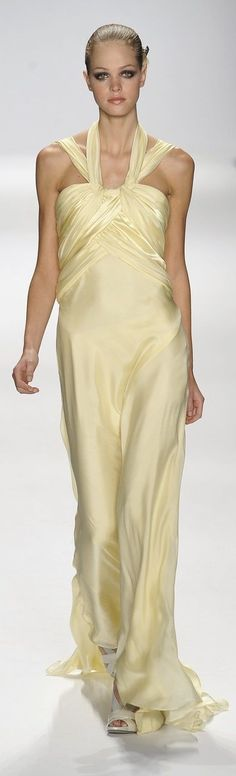 Armani Prive, Only Fashion, High Fashion, Elie Saab, Couture Fashion, Runway Fashion, Glamour Moda, Mcqueen, Yellow Clothes