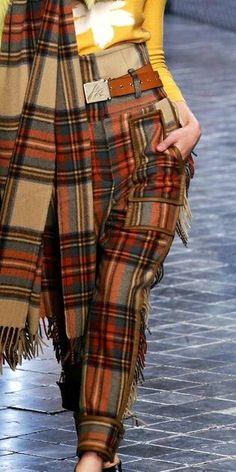 plaid fashion tartan