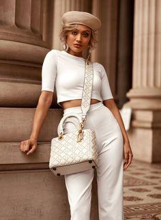 Inspire-se no estilo de Micah Gianneli News Fashion, Fashion Killa, Look Fashion, Fashion Models, Girl Fashion, Womens Fashion, Fashion Trends, Classy Outfits, Chic Outfits