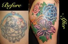 coverup by Gus @ World Famous Tattoo Lous NY Pretty Ink ?   tattoos picture famous tattoos