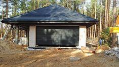 Projekt domu Morgan III 107,05 m2 - koszt budowy - EXTRADOM Gazebo, Shed, Outdoor Structures, Projects, Kiosk, Pavilion, Cabana, Barns, Sheds