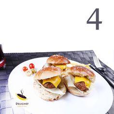 ساندویچ همبرگر مرغ