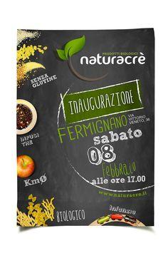 Naturacrè Progetto grafico Manifesto 70×100