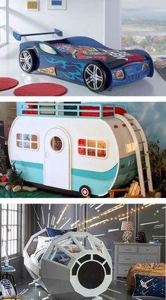 Ideas para la decoración de camas infantiles. Estas son las tendencias del 2017 para decorar los dormitorios de los más pequeños de la casa