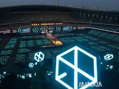 Sehun Oh, Lightstick Exo, Kyungsoo, Chanyeol, Exo Concert, Concert Stage, Exo 2017, Exo Official, Exo Group