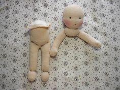 návod na panenku tělíčko