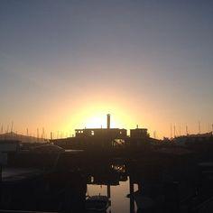 Sunrise #nofilter #sfbayarea #sailing #sausalito