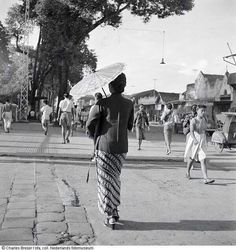 Malioboro, depan Hotel Garuda, 1948