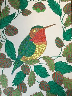 Hummingbird From Millie Marotta Animal Kingdom Lolliz Gel Pens