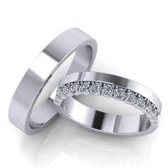 Ricchezza — ювелирные изделия -   Обручальные кольца ERS28