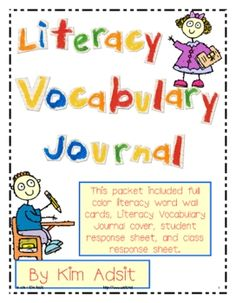ENCORE PACK! If you bought my Math Vocabulary Packet, you will want this one, too!  This literacy vocabulary packet contains everything you need to...