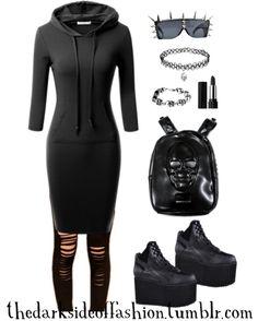 I like the dress and bracelet. :)