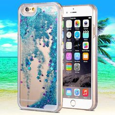 Bling Hard Case For iPhone 6 Plus 5 5 inch Glitter Back Case Dynamic Liquid Quicksand