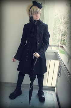 dailylolita: nmrfxxr, in kodona. - All black Ouji Pirate