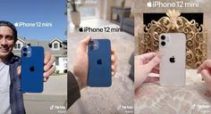 Apple uses TikTok to promote the iPhone 12 mini