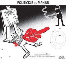 Powerful cartoons that protest the Charlie Hebdo attack - Rediff.com ...