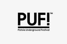 PUF!™ Festival - Brand Identity by Federico Landini, via Behance