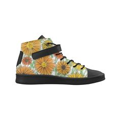 Calendula. Inspired by the Magic Island of Gotland. Lyra Round Toe Women's Shoes(Model 310)