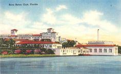 Vintage Florida Postcard  Boca Raton Unused by VintagePlum on Etsy, $4.00