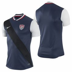 74e3fb82548 Nike US Soccer Authentic Away Jersey. Jay Wardell