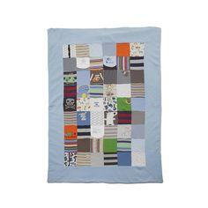personalised baby clothes keepsake quilt by lovekeepcreate   notonthehighstreet.com