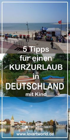 5 tips for a short break in Germany with children - Rund ums Eltern sein - Infos, Tipps & Tricks - Urlaub Europe Destinations, Short Vacation, Culture Travel, California Travel, Romantic Travel, Italy Vacation, Outdoor Travel, Travel Usa, Adventure Travel