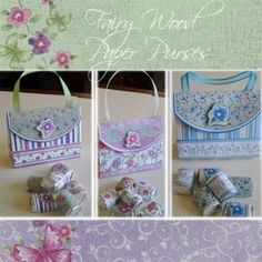 Paper purse printables for Easter - three paper purses with matching Hershey Nuggets Wrappers - Gina Jane Designs - DAISIE Company