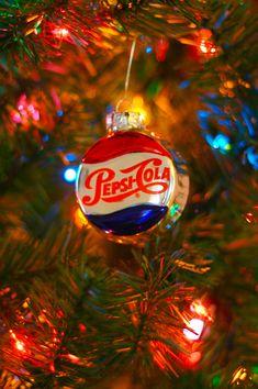 Pepsi Christmas Ornament