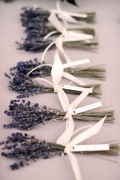 Lavender tied so simple and yet so pretty