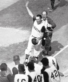 Bill Mazeroski (b.1936)... Born in Wheeling WV.  He hit the winning home run for the Pittsburgh Pirates in the 7th game of the 1960 World Series against the New York Yankees. MBL Hall of Famer.