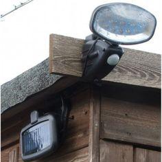 ไฟติดผนังโซล่าเซลล์ 15 LED 1 Solar Security Light, Lights, Solar Powered Security Light, Lighting, Rope Lighting, Candles, Lanterns, Lamps, String Lights