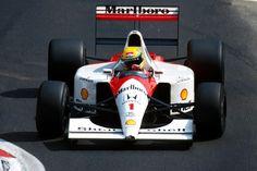 f1pictures: Ayrton Senna McLaren - Honda 1991