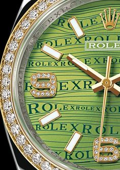 Rolex diamonds. The best sponsor in the equestrian world of sports!