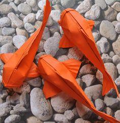 Pin by Lou Canonne on Origami Instruções Origami, Origami Artist, Origami Fish, Origami Butterfly, Paper Crafts Origami, Oragami, Origami Flowers, Diy Paper, Art Japonais