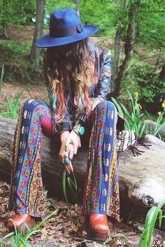bohemian boho style hippy hippie chic bohème vibe gypsy fashion indie folk