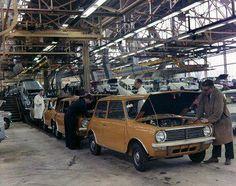 Assembly Line Classic Mini, Classic Cars, Assembly Line, Joy Ride, Mini Clubman, Birmingham Uk, Hot Cars, Motor Car, Mini Stuff