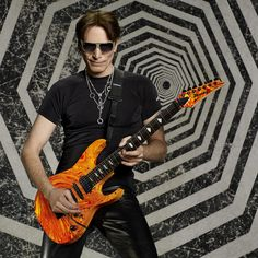 Steve Vai with Electric Guitar